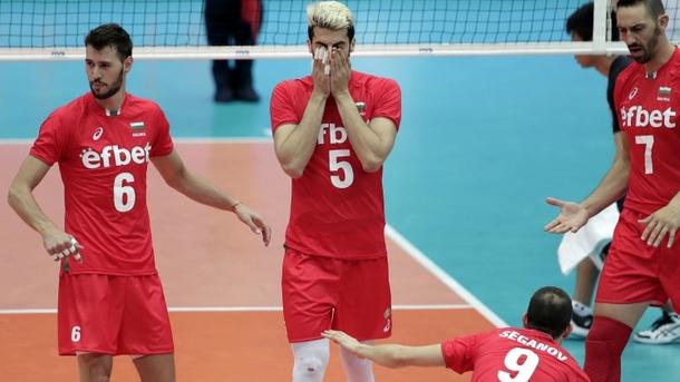 Националите по волейбол допуснаха 6-а загуба в Лигата на нациите