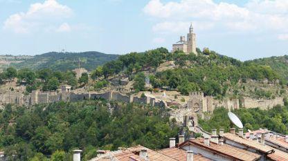 Άποψη από το φρούριο στο λόφο Τσάρεβετς στο Βελίκο Τίρνοβο