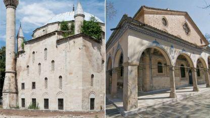 Ибрахим паша джамия в Разград и църквата Св. Марина в Пловдив - и двата храма са пострадали от неподходящи ремонти, унищожили важни части от тези ценни паметници на културата