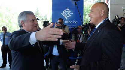 Антонио Таяни и Бойко Борисов