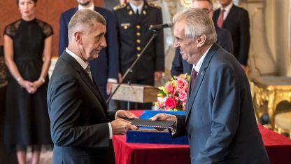 Милош Земан назначи за втори път милиардера Андрей Бабиш за министър-председател