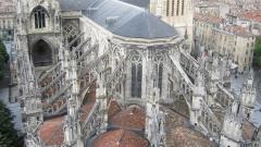 """Църквата """"Сен Андре"""" в Бордо."""