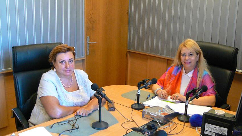 Красимира Натан (вляво) и Анелия Торошанова.