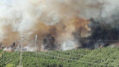 Пожарът в Кресненското дефиле през 2017г.