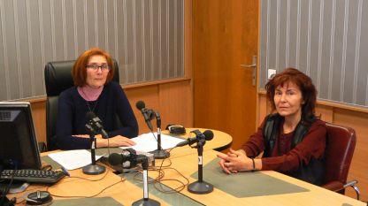 Цвета Николова и доц. д-р Веселина Вачкова (вдясно).