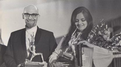 Атанас Бояджиев и Богдана Карадочева, 1969 г.