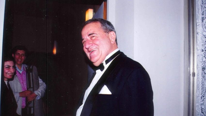 Георги Бадев – след една от концертните му изяви в град Пловдив