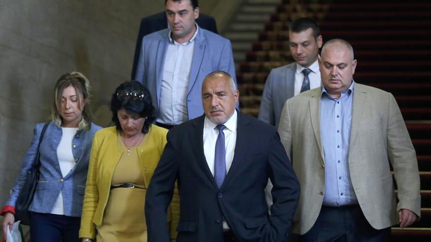 Премиерът Бойко Борисов се срещнa с протестиращите превозвачи в Министерски съвет.