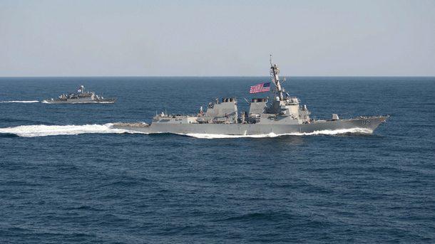 Американският военен кораб