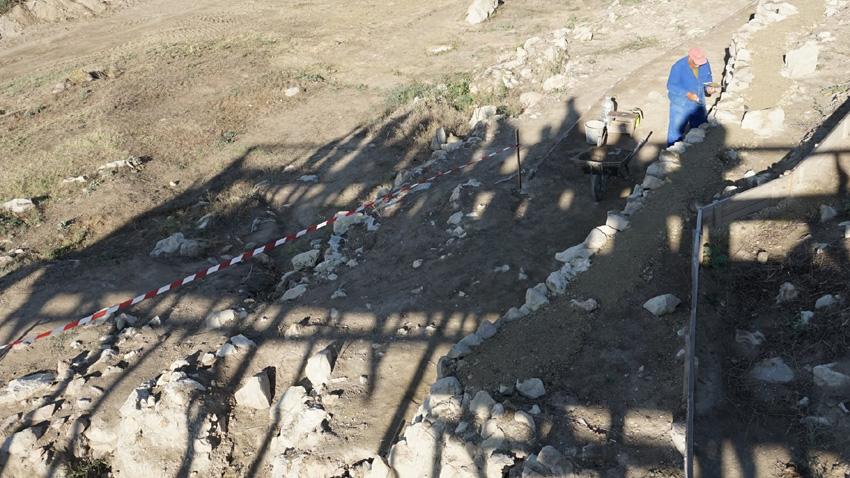 Разкопки на укрепеното селище