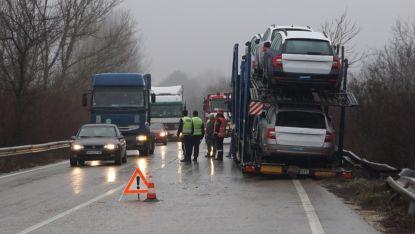 Засиленият трафик към Дунав мост 2 е заплаха за пътуващите, твърдят от гражданското обединениени за промяна
