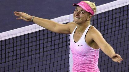 Забине Лисицки е полуфиналистка в Индиън Уелс