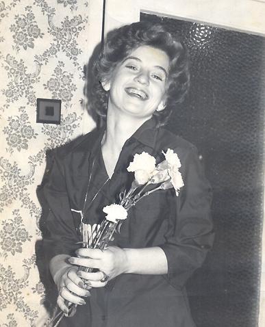 В началото на кариерата ѝ. Снимка: личен архив