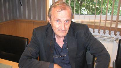 Валентин Вацев в студиото на