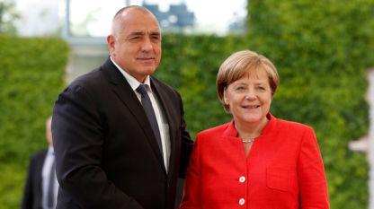 Bojko Borisov dhe Angela Merkel