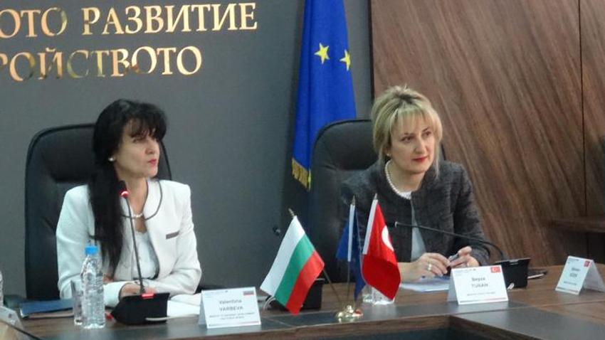 Bölgesel Kalkınma ve Bayındırılık Bakan Yardımcısı Valentina Vırbeva ve T.C. AB Bakanlığı