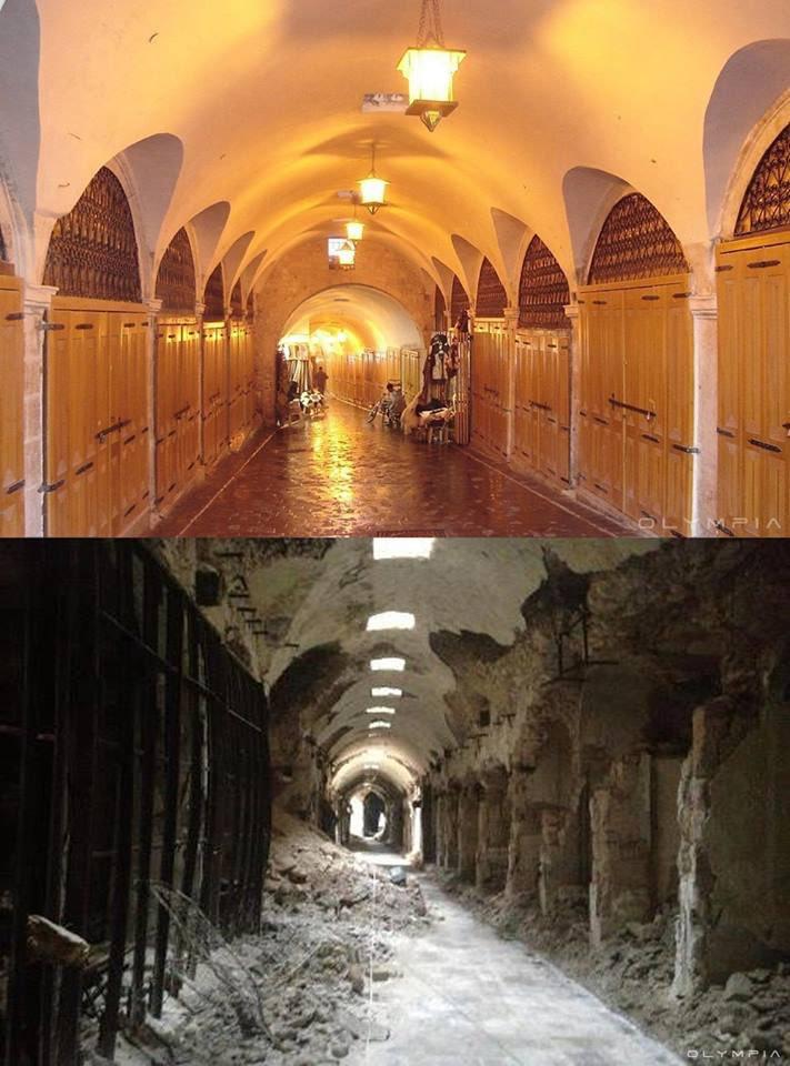 В Сирия - преди и след