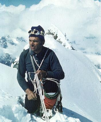Boris Tuechki at Mount Matterhorn