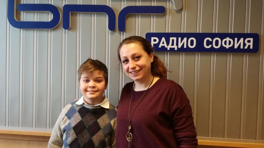 Ивайло Василев и Петя Цветанова в Радиокафе