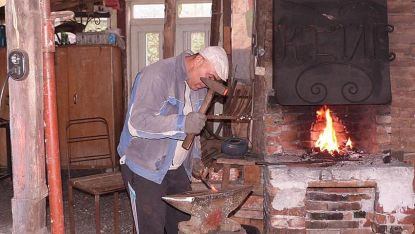 Петър Иванов, ковач