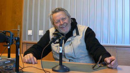 Любомир Бъчваров в студиото на програма