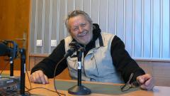 Любомир Бъчваров в студиото на