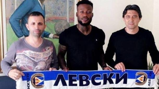 """Конгоанският нападател Жуниор Мапуку подписа договор с """"Левски"""""""