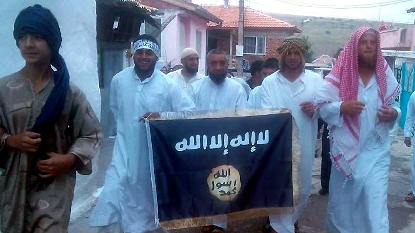 Islamisten im Roma-Viertel von Pasardschik