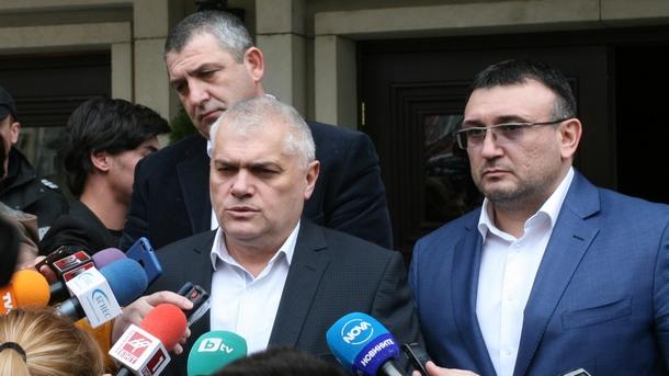 Валентин Радев, Светлан Кичиков и Младен Маринов