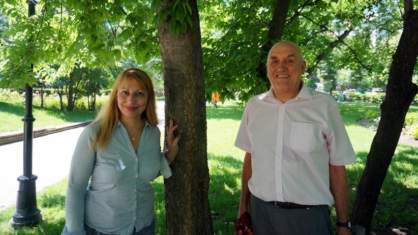 Мария Мира Христова и Кенет Андерсън.