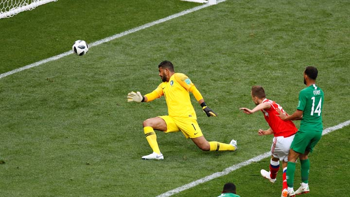 Домакинът Русия победи с 5:0 отбора на Саудитска Арабия в