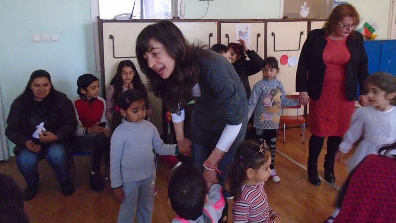 Празникът 8 март в детската градина в Ново село.