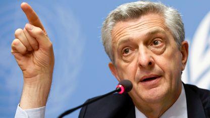 Върховният комисар на ООН за бежанците Филипо Гранди,
