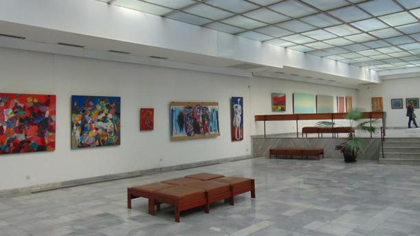 """Традиционната изложба """"Жени художнички"""" е открита в художествената галерия"""