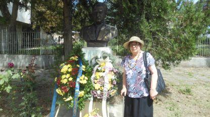 Паметник на д-р Стефан Черкезов във Велико Търново