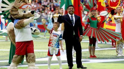 Роналдо по време на Световното първенство в Русия