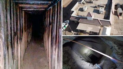 Тунелът бил с дължина около 180 метра на почти 7 метра под земята.
