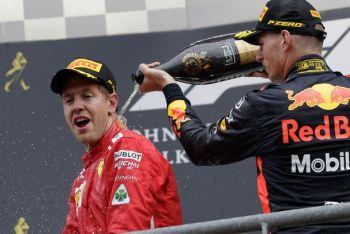 Фетел бе най-бърз за Гран при на Белгия