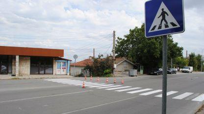 Обновяват пешеходните пътеки в Шумен