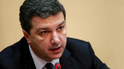 Министърът на икономиката, енергетиката и туризма  Драгомир Стойнев