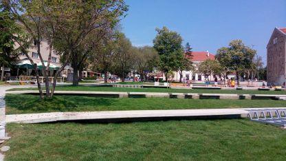 Предстои ремонтът на площада в Царево да бъде завършен