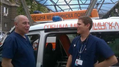 Д-р Борис Зарков (вдясно)