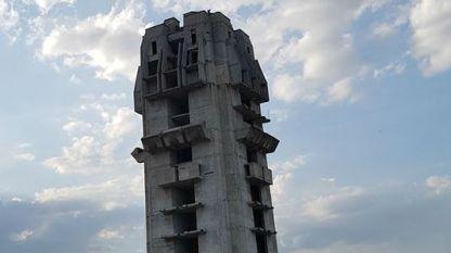 Недовършената кула в Шумен