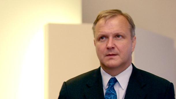 Еврокомисарят по икономическите и валутни въпроси Оли Рен