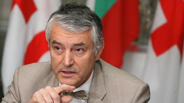 Председателят на БЧК Христо Григоров