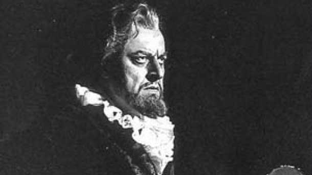 \r\nБорис Христов в ролята на Филип ІІот