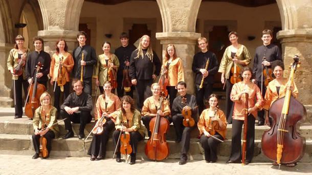 Бароковият оркестър на Европейския съюз.
