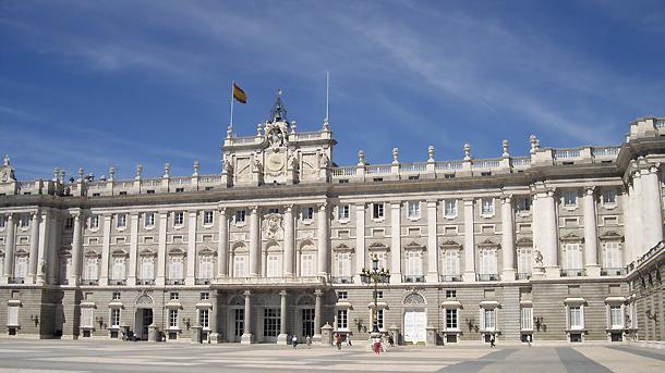 \r\nКралският дворец - Паласио Реал в Мадрид.