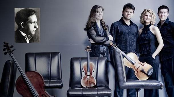 """Струнен квартет """"Павел Хаас"""", съставен от млади, виртуозни и амбициозни музиканти."""