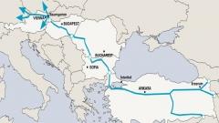 خط عبوره يمر من تركيا وبلغاريا ورومانيا والمجر والنمسا